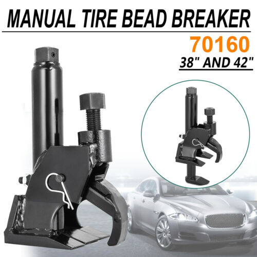 70160 Manual Tire Bead Breaker Loosens Rim Wrench Tool Leverage New