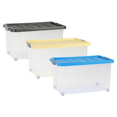 Unibox 55 l versch. Farben Stapelbox Aufbewahrung Kiste Box Aufbewahrungsbox