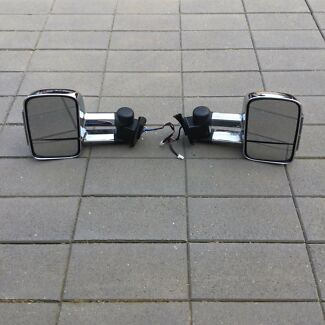 Clear view towing mirrors