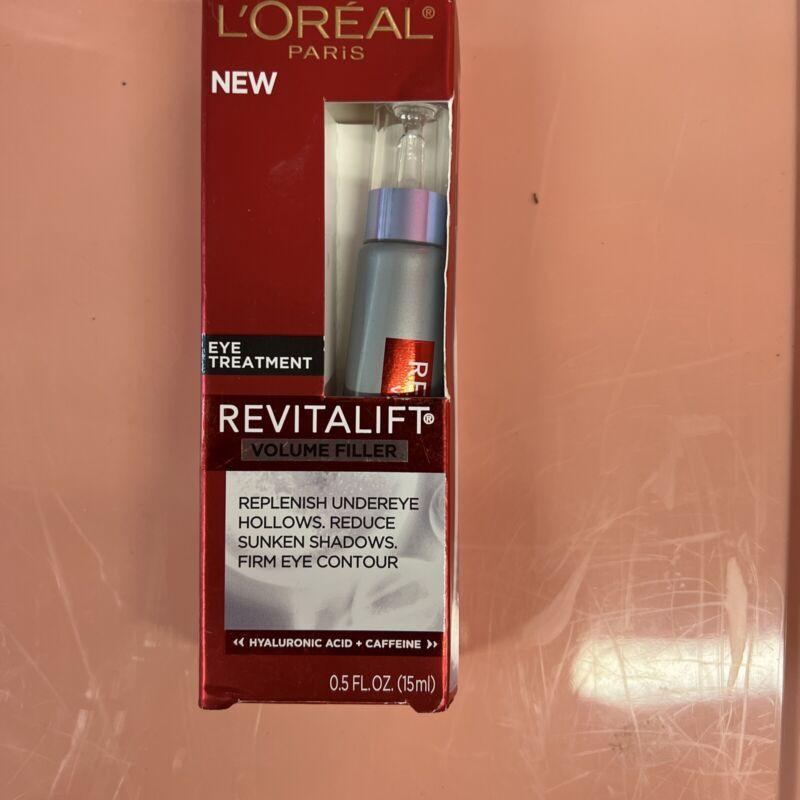 Loreal Revitalift Volume Filler Eye Treatment 0.5 oz Brand New In Box