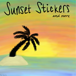 Sunset Stickers and MORE