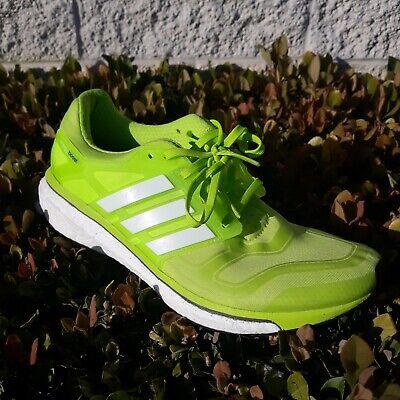 Adidas Lime Green RG3 Energy Boost 2 Running Shoes Size US 10.5 F32254 Lime Green Running Shoes
