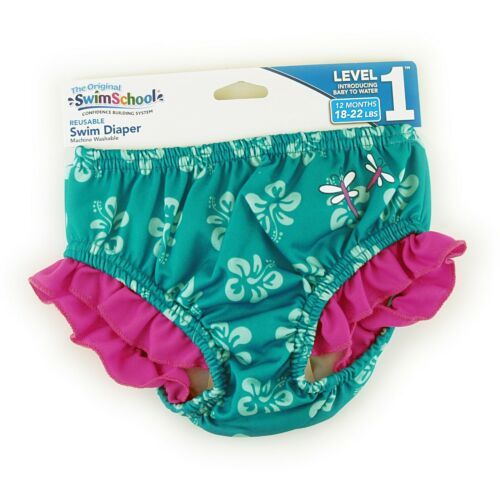 Swim School Reusable Swim Diaper Level 1 Confidence Building System NEW