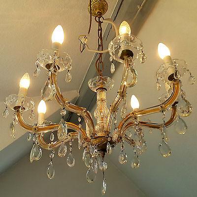 Kronleuchter Kristall Lüster 8 flammig Ø70cm edles Maria Theresa Vintage Design