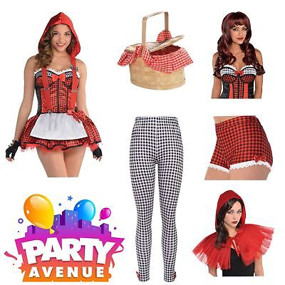 Adult Red Riding Hood Accessories Fancy Dress Up Costume - Red Riding Hood Accessories