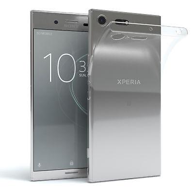 Sony Xperia XZ Premium Funda de Silicona Trasera Protector Móvil Transparente