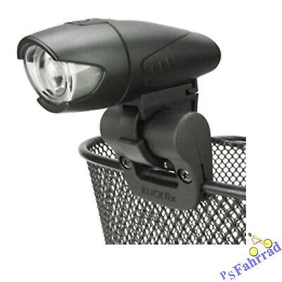 Klickfix Scheinwerferhalter Light Clip z. befestigen Scheinwerfer Licht am Korb ()