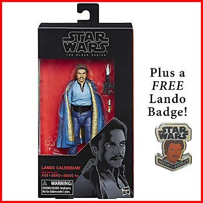 Black Series Lando Calrissian  New  Star Wars Episode V  The Empire Strikes Back