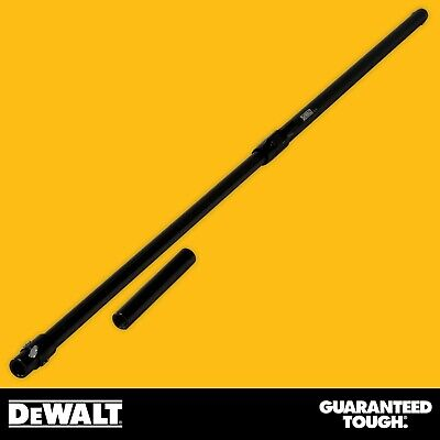 Dewalt Drywall Extendable Corner Roller Handle W Adapter 47-77 Finishing Tool