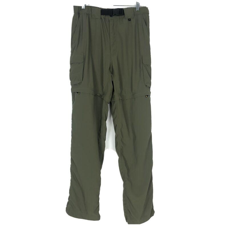 Boy Scouts America BSA Mens Switchbacks Convertible Pants Green Medium 34 Shorts