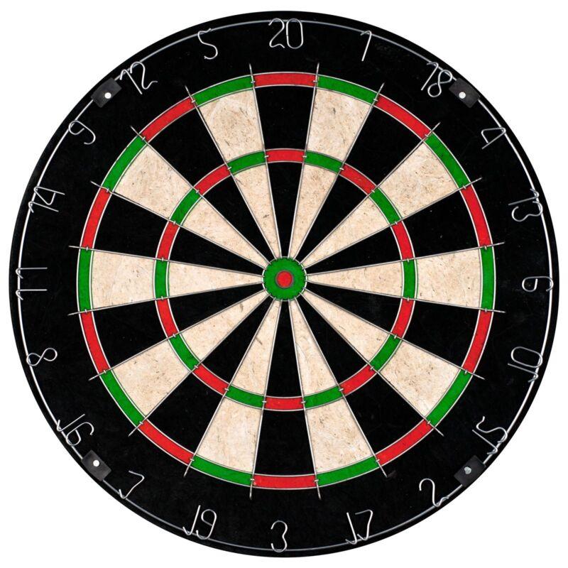 18 In Professional Regulation Size Bristle Dart Board High Quality 10 Lb