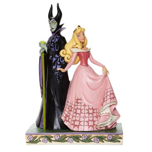 Disney Jim Shore 2020 Sleeping Beauty Villain Maleficent with Aurora Figurine