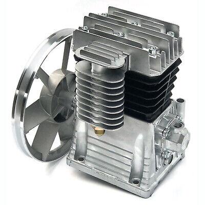 2.2kw 3hp Oil Lubricated Air Compressor Pump Head 250lmin W Silencer Screw