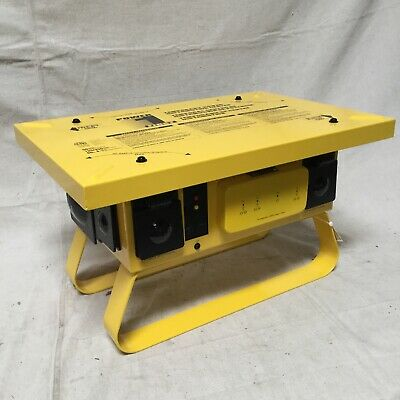 Power First 4hdx2a Power Distribution Box 120240v Ac 50 A Amps 3 Poles