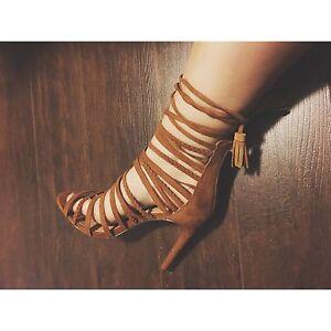 Bohemian high heels