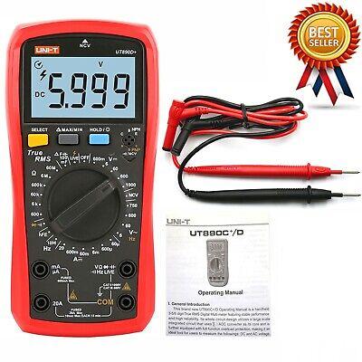 Uni-t Ut890d Digital True Rms Handheld Multimeter Rel Acdc Frequency Tester L