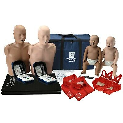 Take2 Cpr Training Kit W 2 Adult 2 Infant 2 Aed Trainers Accessories