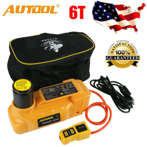 AUTOOL 12V 6T Hydraulic Electric Replace Car Lifting ...