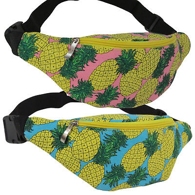 Pineapple Purse (Tropical Pineapple Fanny Pack Festival Fashionista Waist Bag Beach Party)
