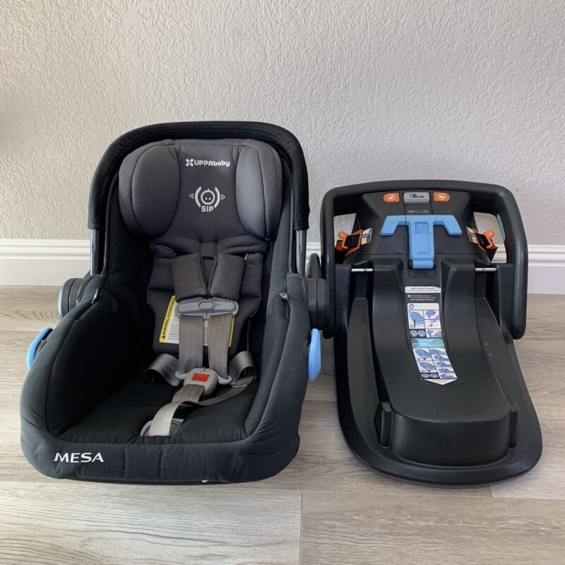 UPPAbaby 2017 Mesa Infant Car Seat and Base Jake Black