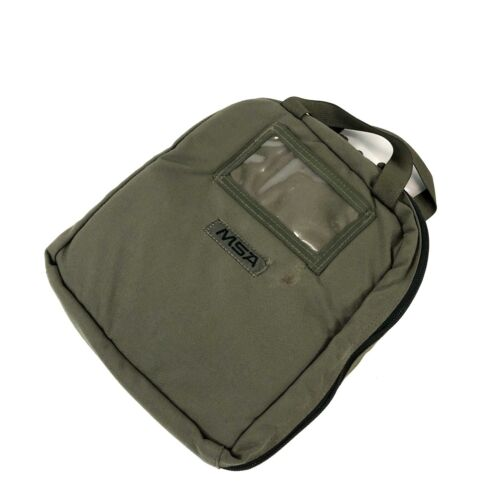 MSA Headset Case Tactical Padded Protective Carry Bag Green Military USGI