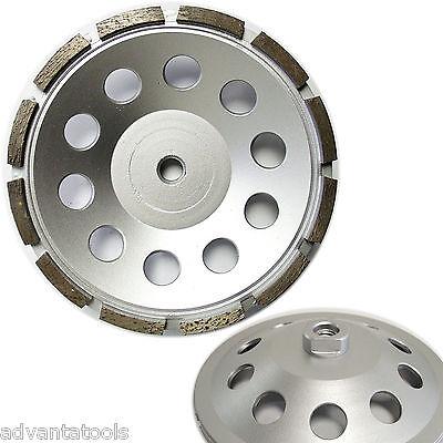 7 Single Row Diamond Cup Wheel For Concrete Stone Masonry Grinding 58-11
