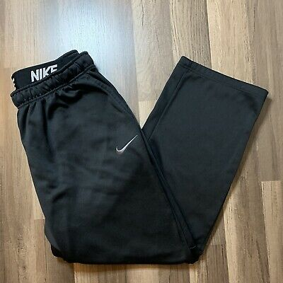 Men's Nike Dri-Fit Athletic Pants Size XXL Black With Pockets Sweatpants A4