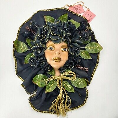 Imagine A Fantasy Art Collection By Show-Stoppers. Porcelain Mask. Pre-owned.
