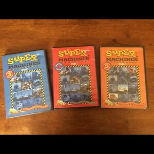 Collection de 3 DVD Supers machines