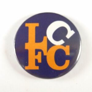 LCFC - Leicester City Football Club - Button Badge - 25mm ...