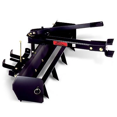 Brinly Bs-38bh Sleeve Hitch Tow Behind Box Scraper 38-inch Black 2day Delivery