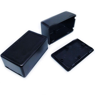 Us Stock 2pcs Plastic Project Box Electronic Enclosure Case Diy 60 X 35 X 25mm