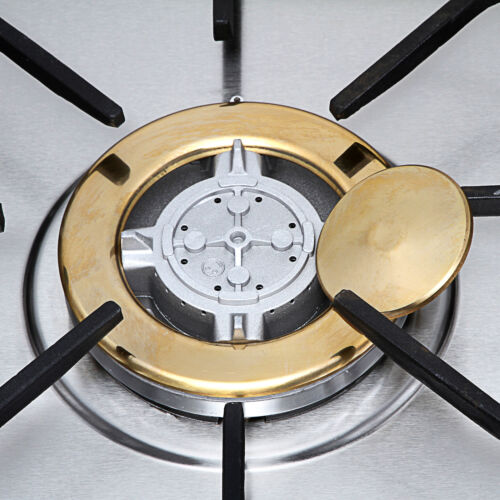 """30"""" Stainless Steel Gold Burner Built-in Natural Gas Cooker"""