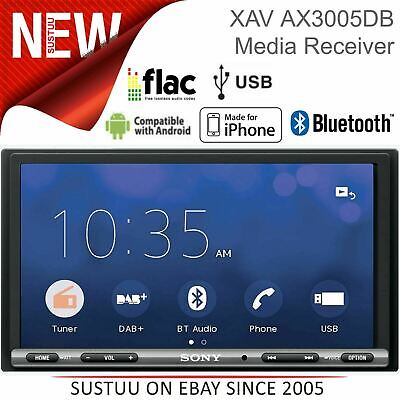 Sony Car Stereo│DAB+ Radio│2-Din Media Player│Bluetooth│USB│Android Auto│iPhone