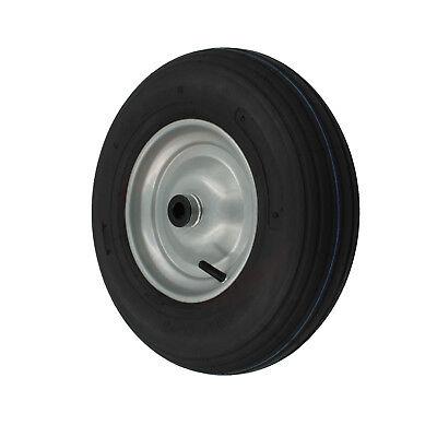 Luftrad 400x100 Schubkarrenrad Reifen 4.00-8 Schubkarren Rad für Achse 25