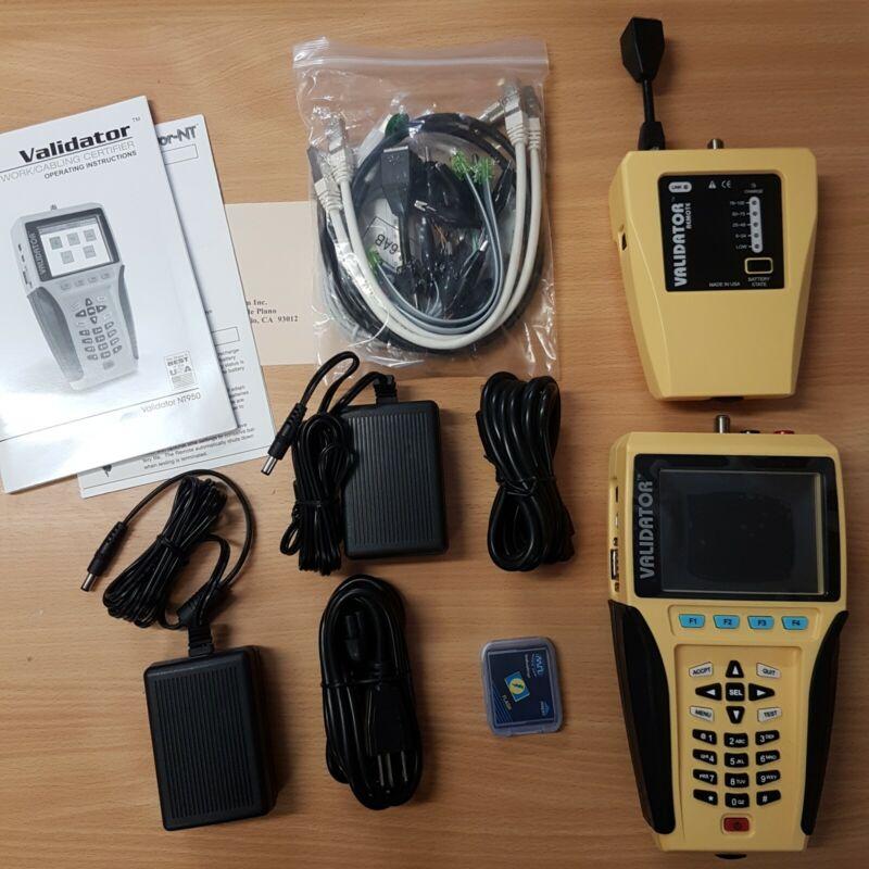 Test-um Validator NT900 Network LAN Ethernet Cable tester NT900 NT-900