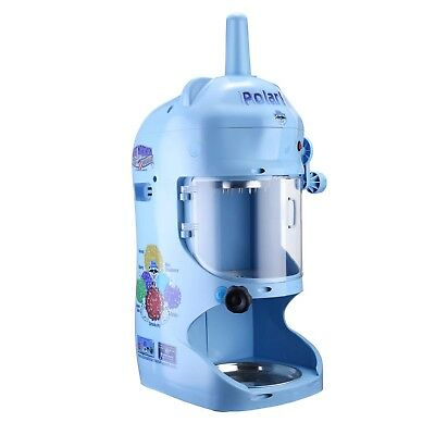 Commercial Grade Blue Shaved Ice Block Machine Shaver Snow Cone Maker