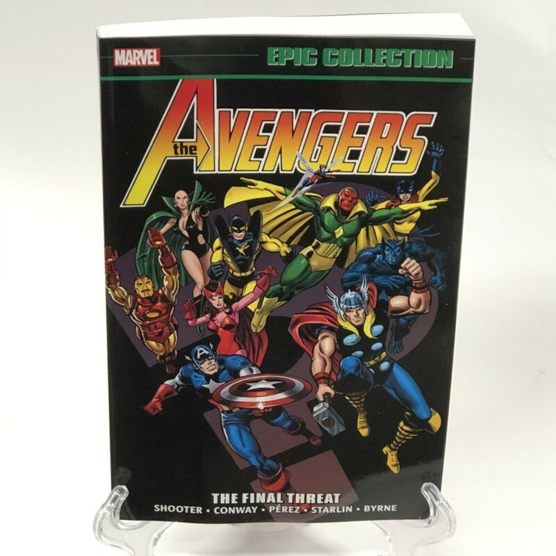 Avengers Epic Collection V9 The Final Threat New Printing New Marvel Comics TPB