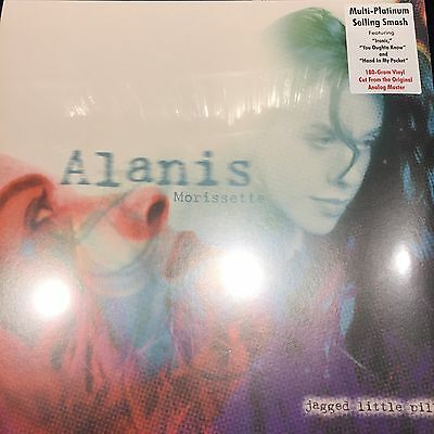 ALANIS MORISSETTE - JAGGED LITTLE PILL - 180 gram VINYL LP - BRAND NEW