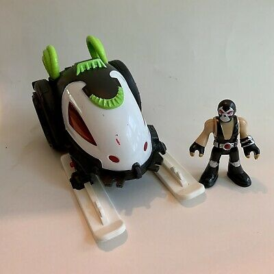 Imaginext DC Super Friends Bane Battle Sled w/ Figure No Missiles