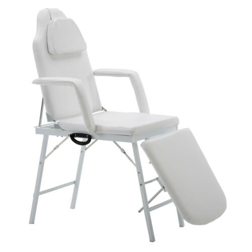 "73"" Portable Massage Table Chair Tattoo Parlor Spa Salon Fac"
