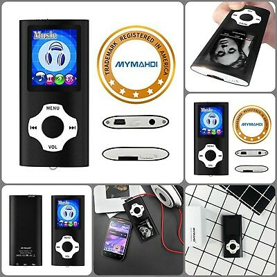 MP3/MP4 Player W/ Accessories 64 Gb Support 40 Hours Battery Life Plug And Play