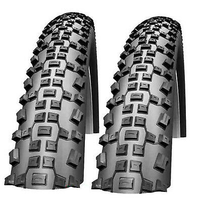 2xTires 26x2.10 Blue Blackwall Mountain Bike Tires