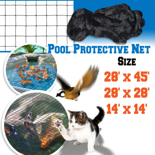Pool Netting Pond Protective Floating Net 14x14