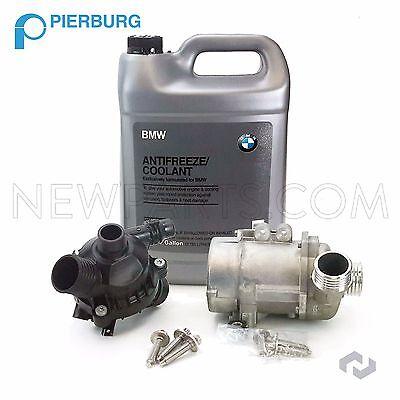 BMW 325i 328i 525i X3 Z4 OEM Electric Water Pump Kit & Antifreeze & Thermostat