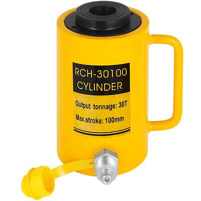 Hydraulic Cylinder Jack 30ton 4 Stroke Hollow Localfast 100mm4inch Ram Metal