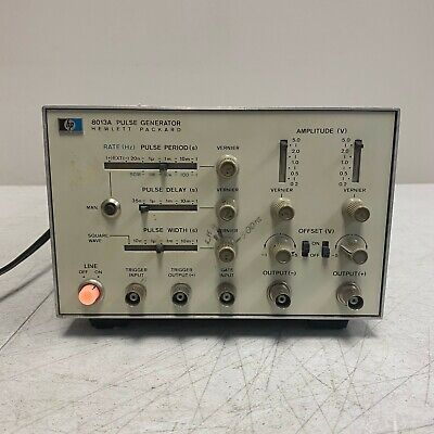 Agilent Hp Keysight 8013a Pulse Generator 50 Mhz Single Channel Tested