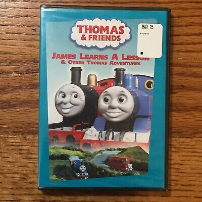 Thomas and friends James Learns a Lesson and Other Thomas Adventures Ringo Starr