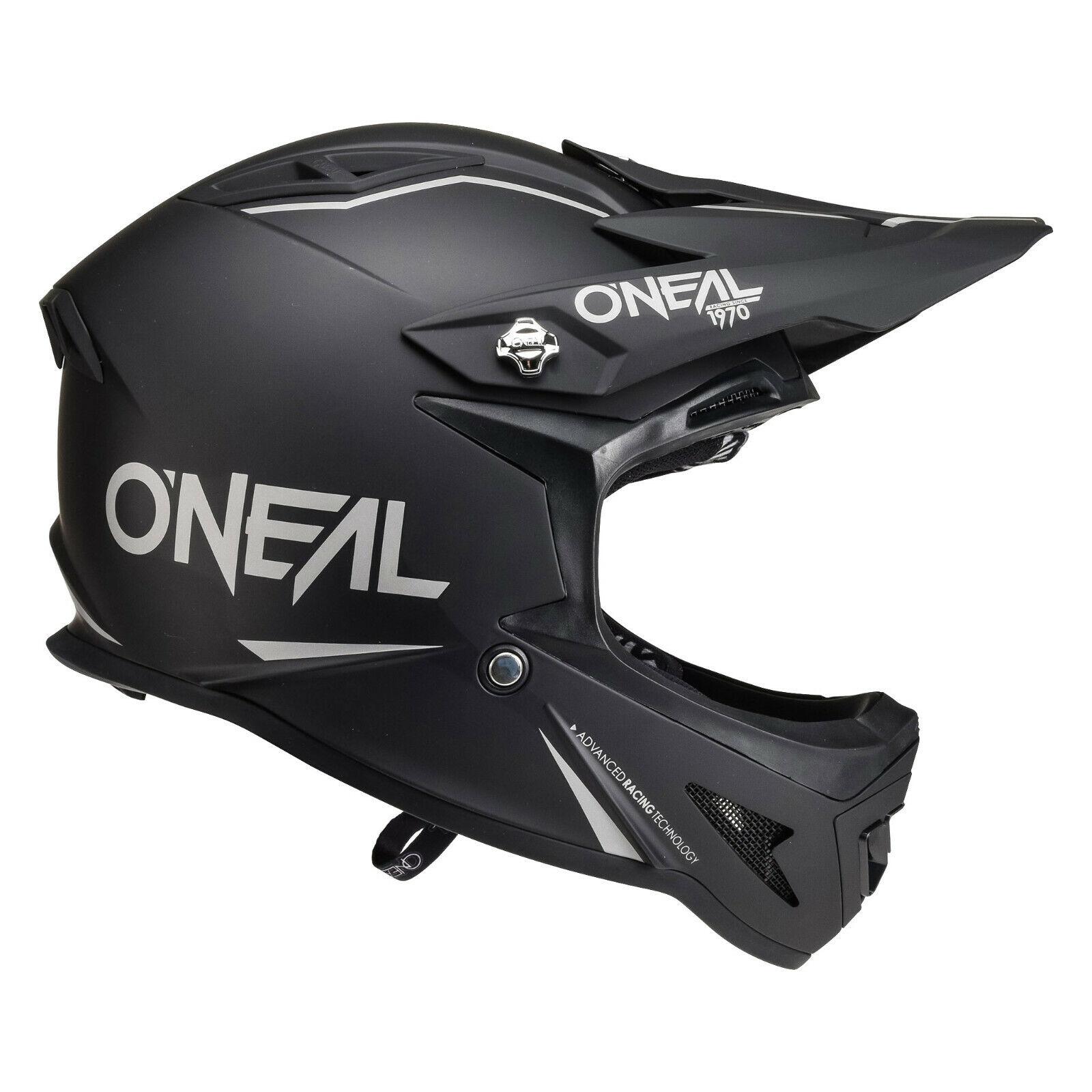 O`Neal  Fullface Helm Warp matt schwarz Downhill FR Dirt ONEAL Gr. L 59-60 cm
