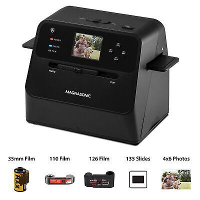Magnasonic Film & Photo Scanner Converts Photo, Film & Slide